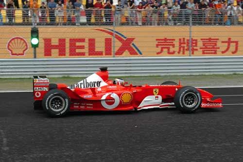 携多型号 油品 抵沪 法拉利应对新赛道不定因素高清图片