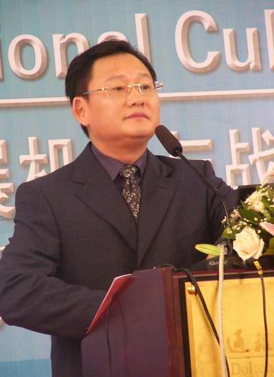 图:金鹰国际产业论坛-湖南媒体控股朱建纲5