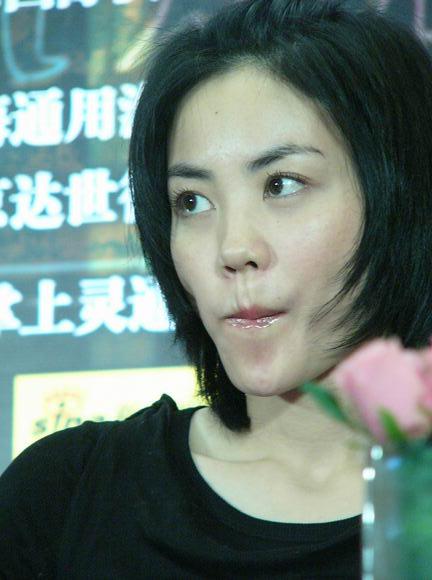 图:《2046》北京首映-王菲09