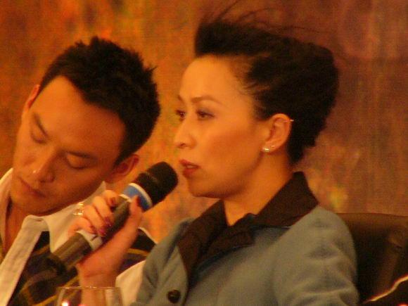 图:《2046》北京首映-刘嘉玲和张震07图片
