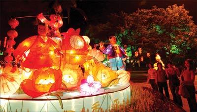 此外,生态园在中秋节和国庆黄金周期间,将推出一系列的主题摊位游戏.图片