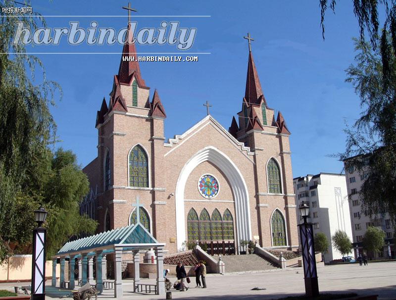 哈利路亚教堂广场改造完毕(图)