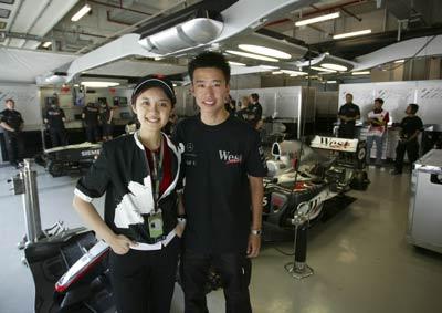 图文:F1大奖赛中国上海站 程丛夫