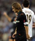 图文:皇马4-2胜罗马 托蒂在比赛后黯然退场