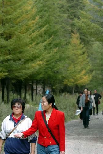 寧夏六盤山國家級自然保護區王化南保護站職工