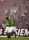 图文:北京现代2-0胜上海国际 耶利奇庆祝进球