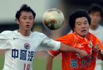 图文:李金羽领跑中超射手榜