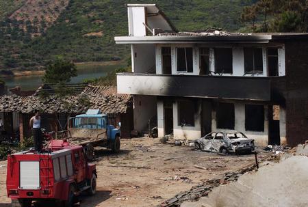 广西烟花爆竹厂爆炸事故死亡人数增至27人(图
