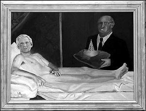 美国大胆嫩鲍人体艺术_他自己竟会成为一幅裸体艺术画中的男主角,这幅总统裸体画还没有在