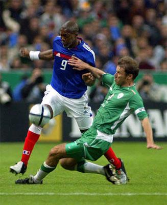 图文:法国主场0-0憾平爱尔兰