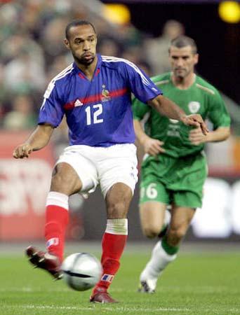 图文:法国主场0-0爱尔兰