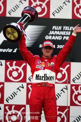 图文:F1大奖赛日本站 舒米第六次在铃鹿夺冠24
