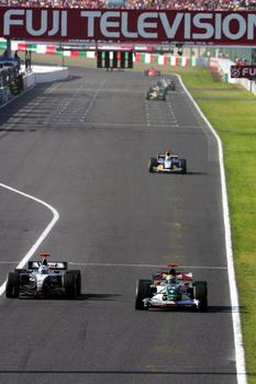 图文:F1大奖赛日本站