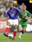 图文:法国主场0-0爱尔兰 亨利推射基恩无可奈何
