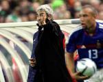 图文:法国主场0-0战平爱尔兰 多梅内克指挥