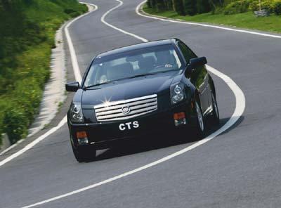 启动激情--Cadillac  CTS