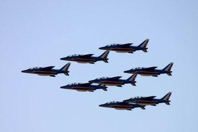法兰西巡逻兵在京飞行表演成功(组图)