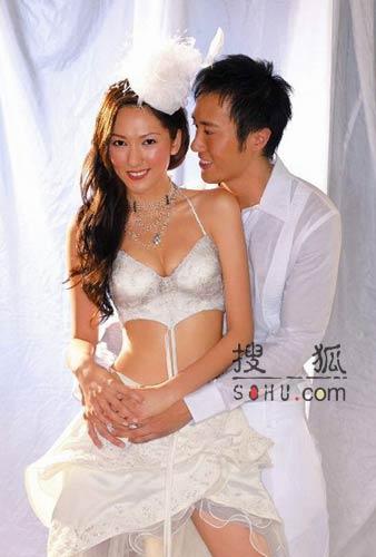 图文:林心如披性感婚纱:身材好不怕没人要-3