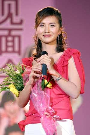 """""""万人迷""""陈好南宁献唱 受影迷热情欢迎(图)"""