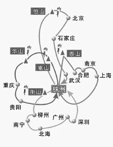西岳圣火抵我市(组图)图片