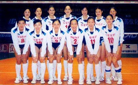 全国女排联赛 江苏仪化女排图片 41849 450x279