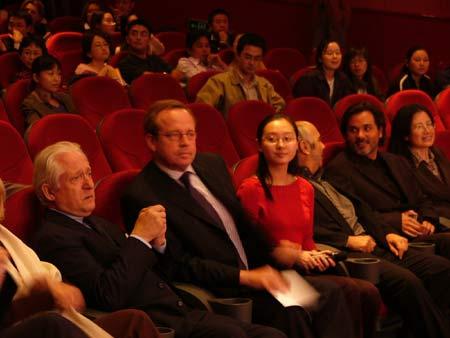 图文:《放牛班的春天》上海首映仪式-5