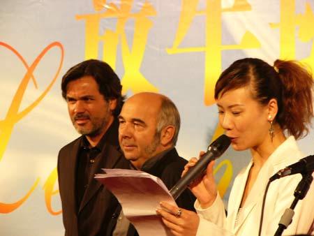 图文:《放牛班的春天》上海首映仪式-3