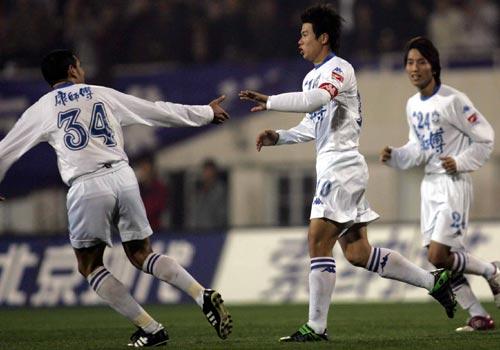 图文:天津3-0沈阳