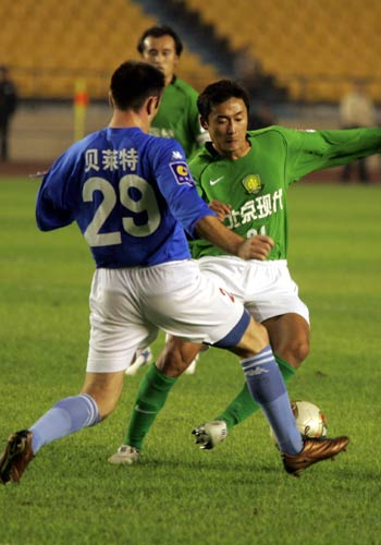 图文:北京2-0青岛