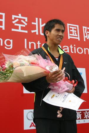图文:北京国际马拉松半程赛
