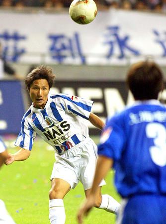 图文:申花3-2国际