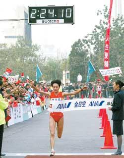 孙英杰北京马拉松卫冕