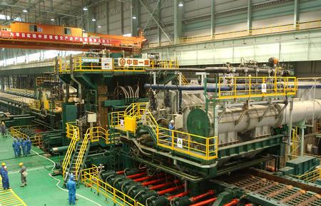 图文:世界第一条转炉-炉卷轧机生产线建成投产(1)