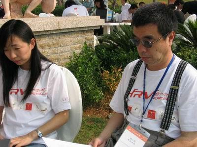 权威媒体各位著名记者饶有兴趣参观搜狐直播台