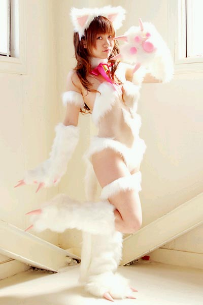 [cosplay]性感诱惑小猫咪mm写真