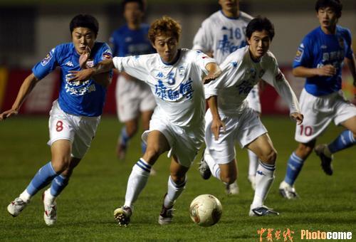 图文:青岛0-1天津