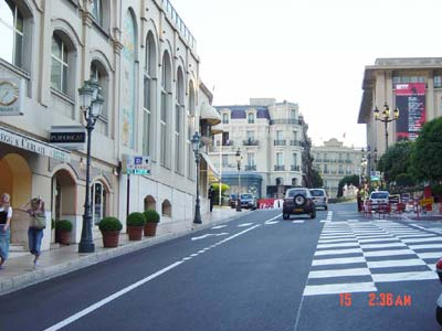 李峰单人单车环球旅行--摩纳哥和法国尼斯