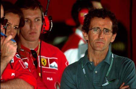 ...开F1的阿兰-普罗斯特50岁了!人称