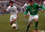 图文:天津3-0北京 现代队耶里奇在比赛中