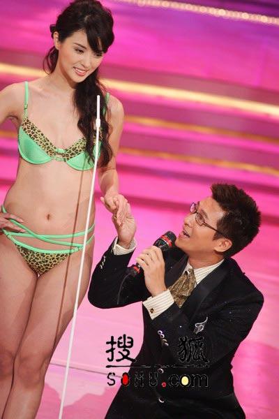 小美女__cctv模特大赛泳装秀;; 图文:2004亚洲小姐选举-性感泳装秀12