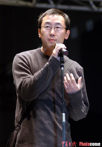 图文:东京电影节第二天-导演陆川交流