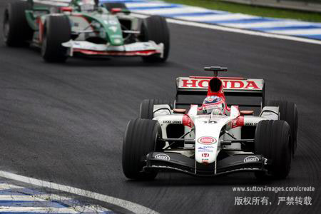图文:F1巴西站比赛