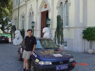 李峰单人单车环球旅行--葡萄牙篇(组图)