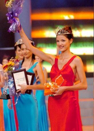 广东莫万丹获中国模特之星大赛冠军(组图)