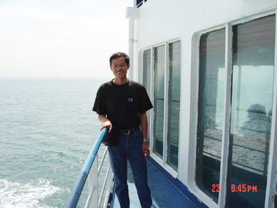 李峰单人单车环球旅行--跨越英吉利海峡