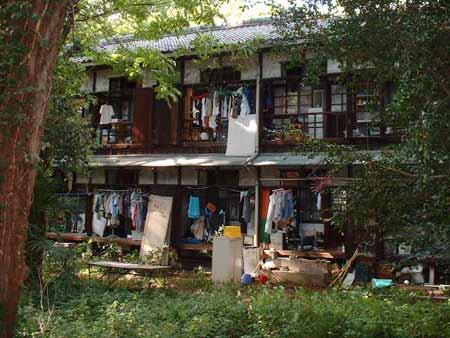 日本某知名大学恐怖学生宿舍(续图)