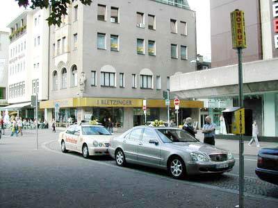 德国传真:德国街景之免费的出租车(图)