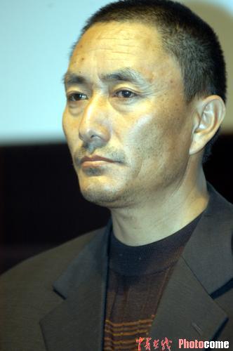 图文:东京电影节 《可可西里》男主角多布杰