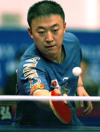 乒球世界杯 马琳胜格林卡男单夺冠