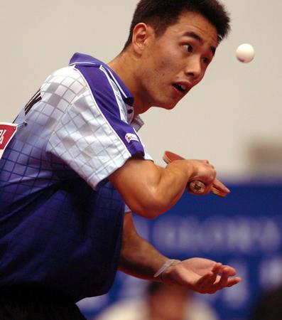 图文:世界杯乒乓球赛